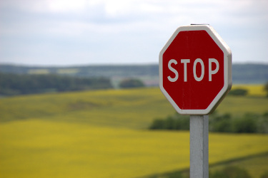 Your child is at risk kids safety training stop signs