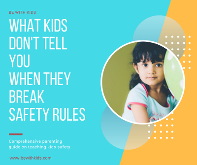 What kids don't tell you when they break safety rules - a girl smiling