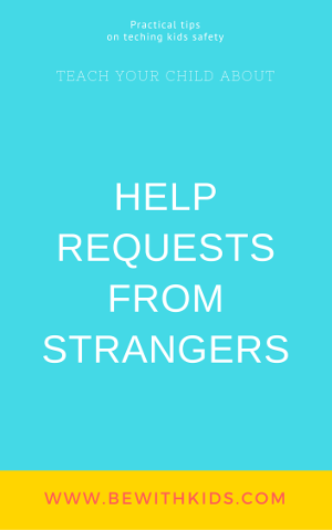 Tricky people - how to teach your child about help requests from strangers - post cover