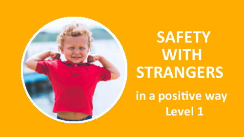 Course card stranger safety training Level 1 be wth kids