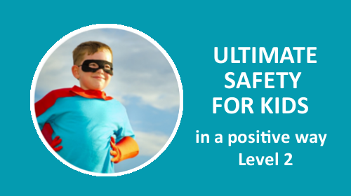 Course card ultimate safety training Level 2 be with kids