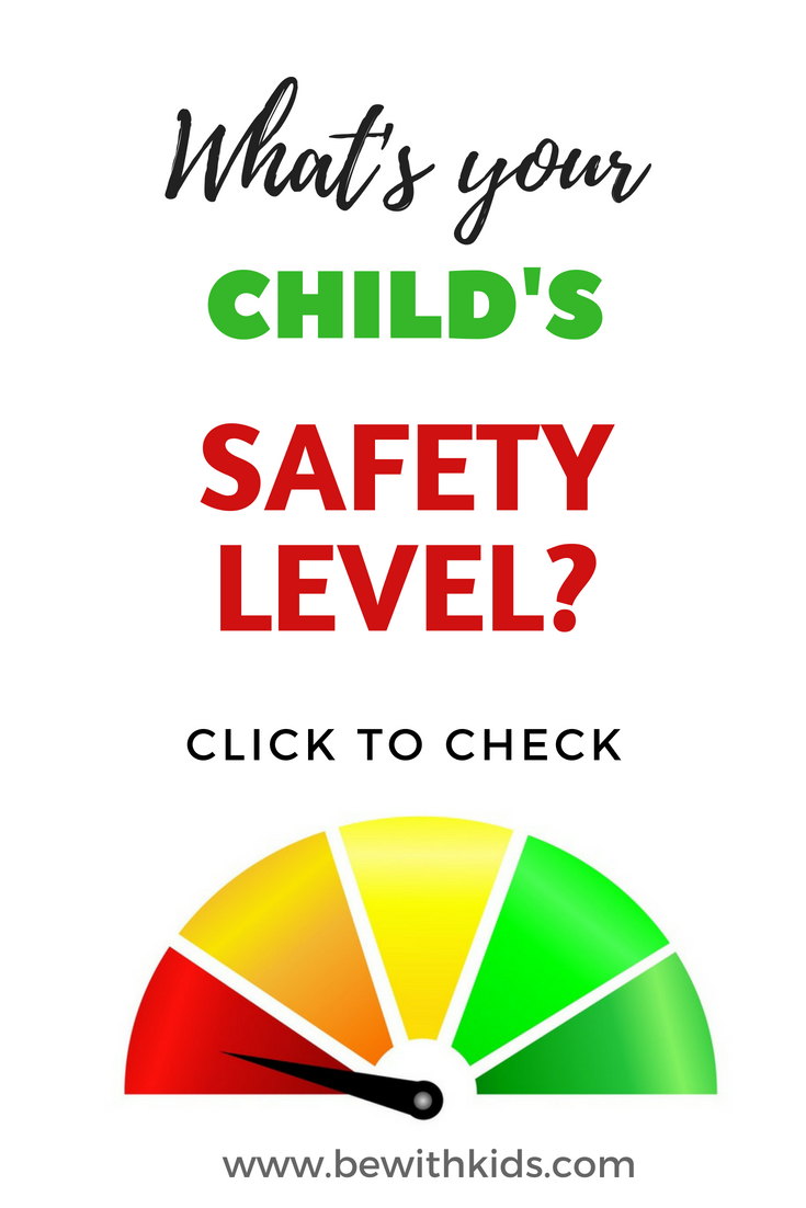 Stranger danger safety level test be with kids