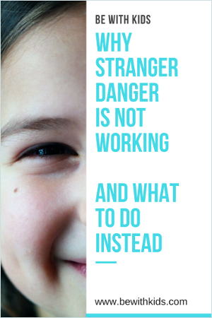 Why stranger danger is not working and how to teach your child safety instead post cover - a girl smiling