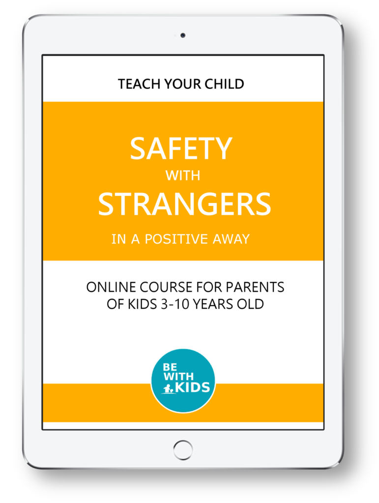Teach your child safety with strangers in a positive hands-on way using games and kids activities
