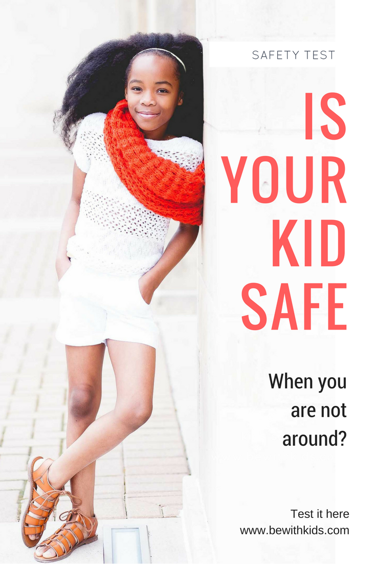 What is your child's safety score - test your child safety level