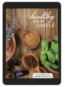 Healthy can be simple doTERRA guide